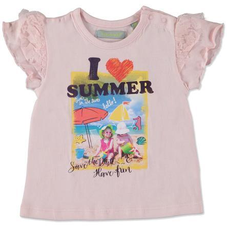 TRICKY TRACKS Girls Mini T-Shirt rosa