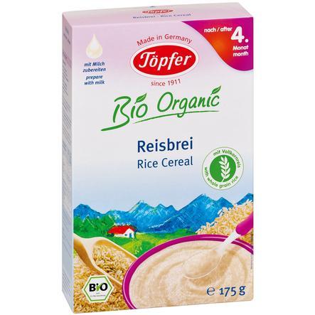 Töpfer Bio Reisbrei mit Vollkornreis 175 g