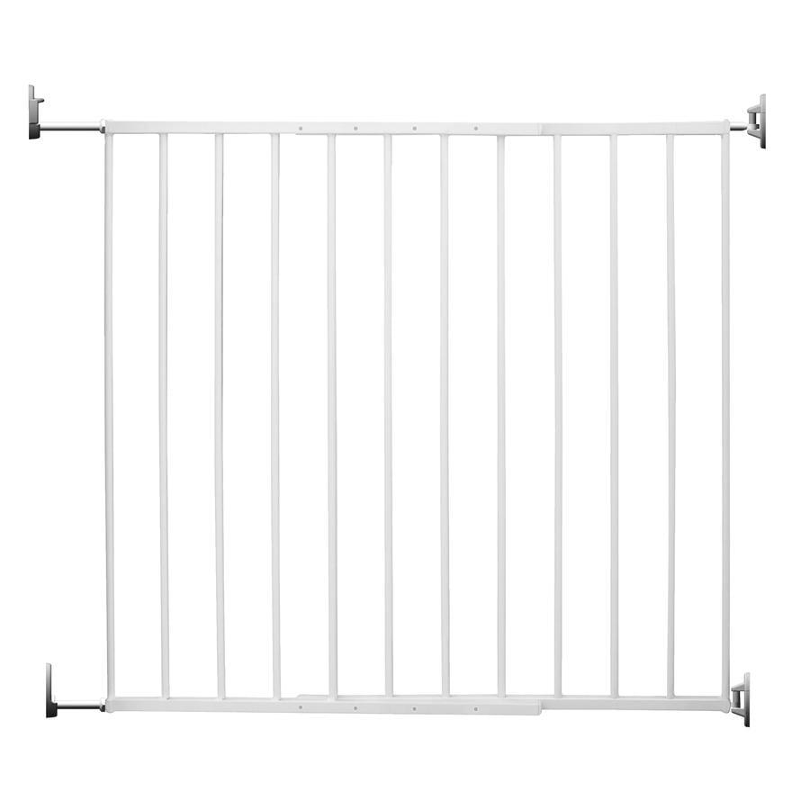 REER Protección para puerta y escaleras Barrera atornillable Basic Simple-Lock Metal blanco