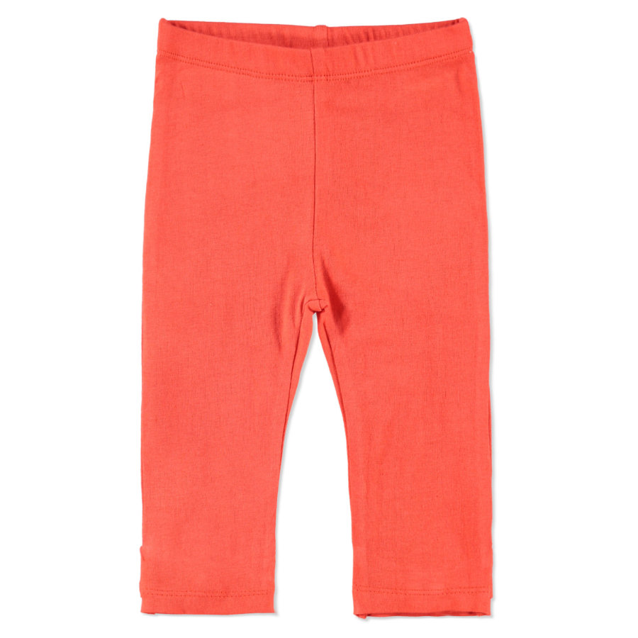 PEBBLE STONE Girls Mini Leggings cayenne red