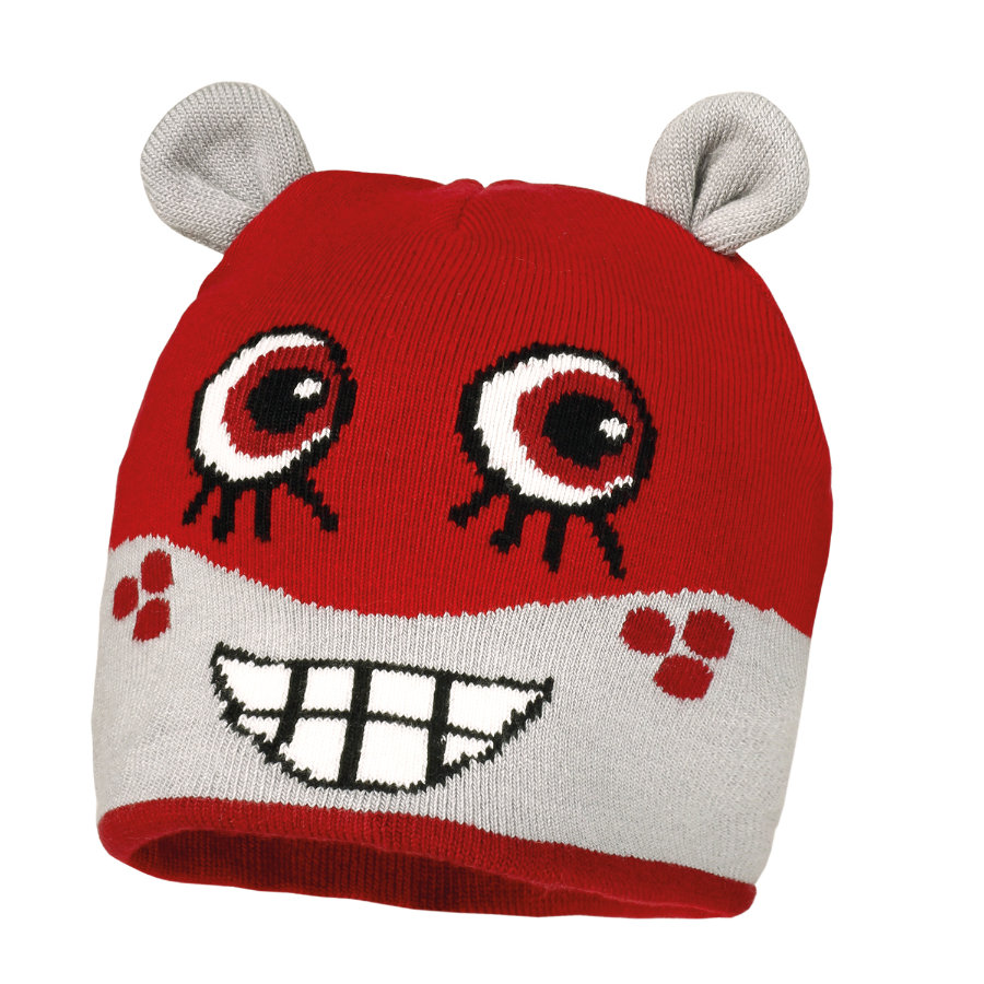 MaxiMo Mini Cappellino MONSTER rosso