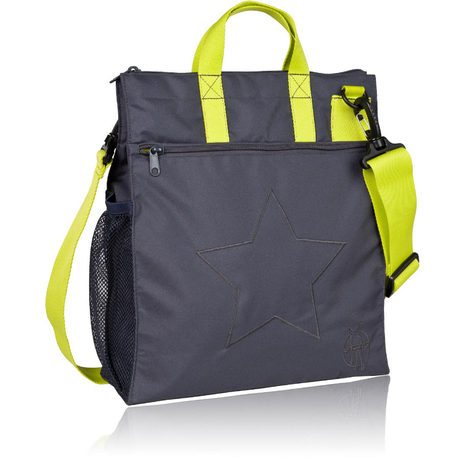 LÄSSIG Casual Buggy Bag Regular Star ebony