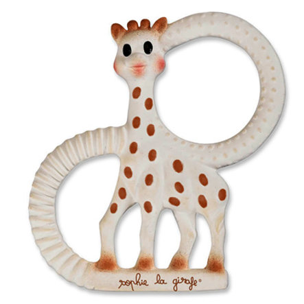 VULLI So Pure Sophie The Giraffe  Mjuk bitring