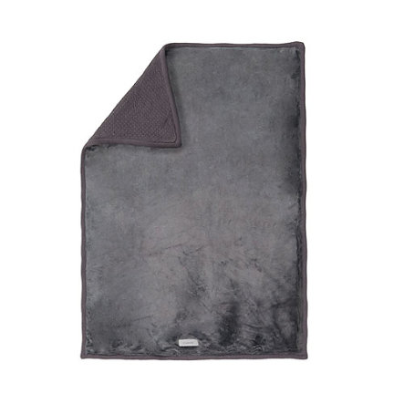 NOUKIES Etoiles Deka 100 x 140 cm Tricoloudoux tmavě šedá