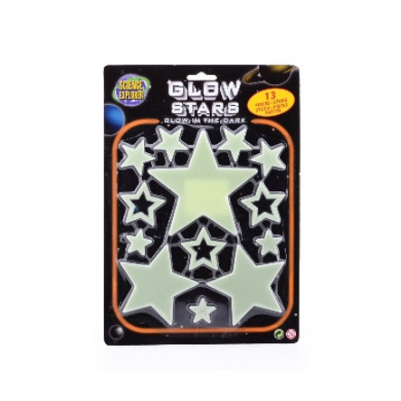 JOHNTOY Science Explorer Glow in the Dark Set