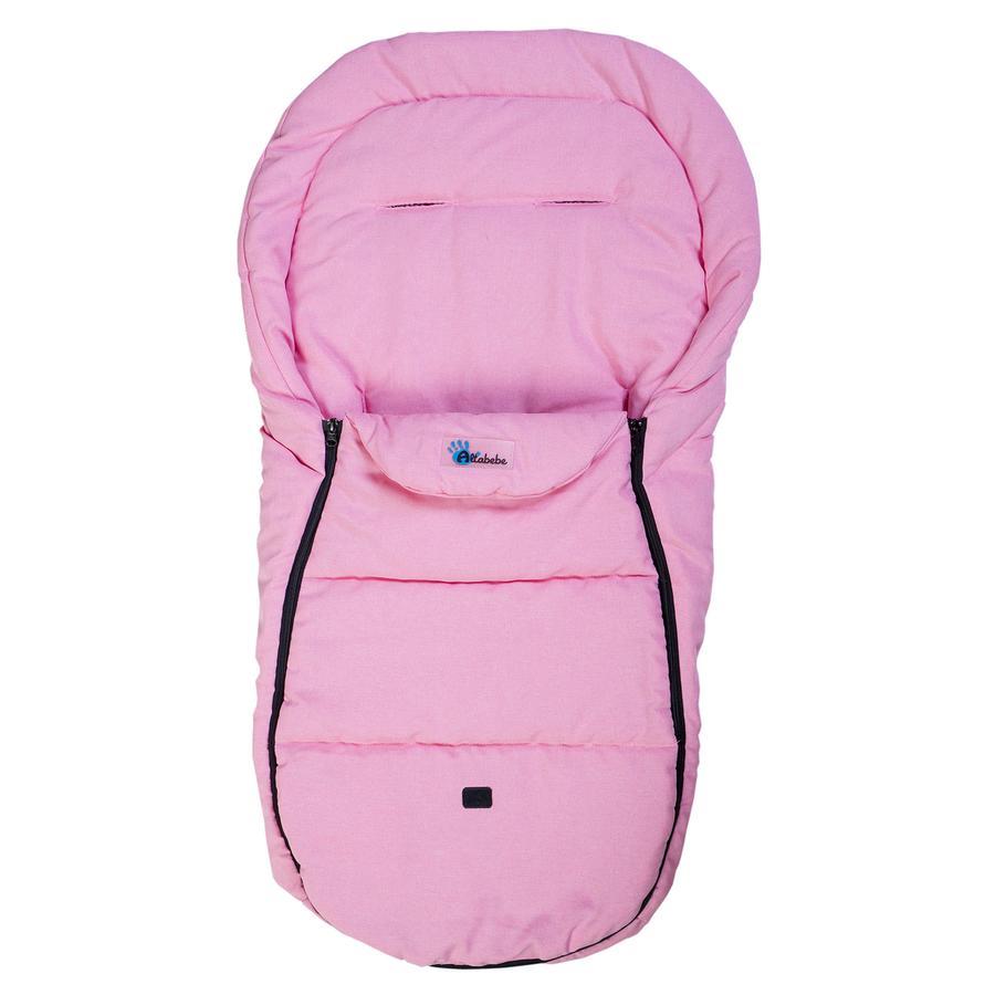 Altabebe Śpiworek letni do wózka Comfort Lifeline kolor różowy