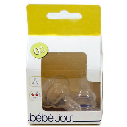 BEBE JOU Silicone  Nipple / Teat  Cherry-Shaped 0m+ Medium