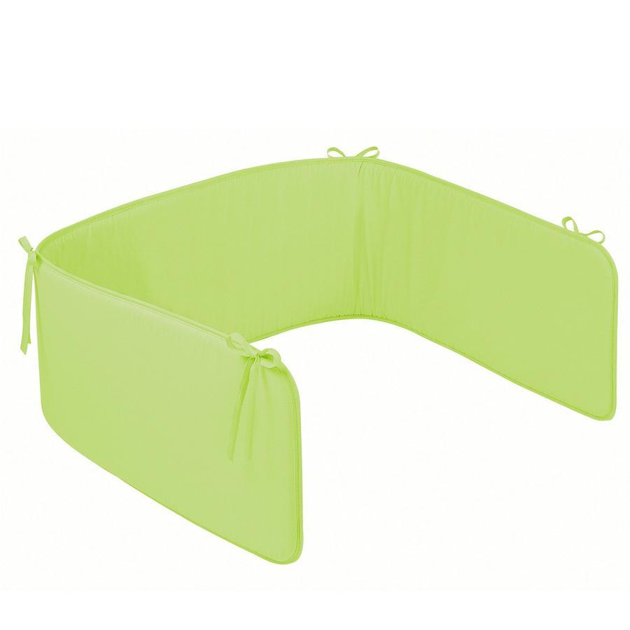 ZÖLLNER Spjälsängsskydd Basic uni grön (4031-7)