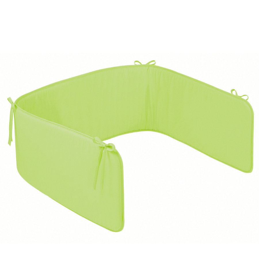 ZÖLLNER Tour de lit Basic uni vert (4031-7)