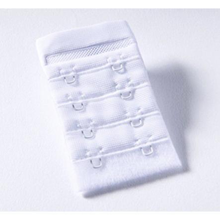 NATURANA Rajout fermeture soutien-gorge, blanc, 4 cm
