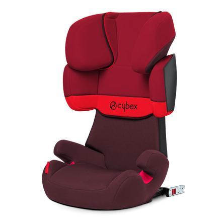 cybex Silla de coche SILVER Solution X-fix Rumba color rojo
