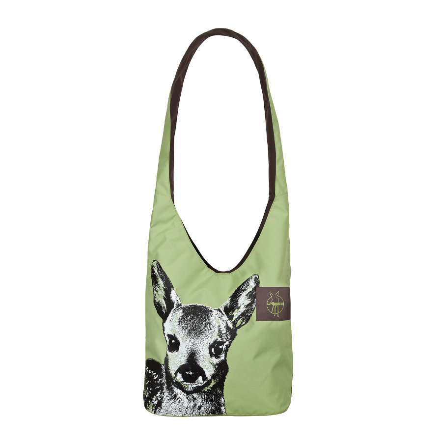 LÄSSIG Borsa Casual Fan Shopper tarragon