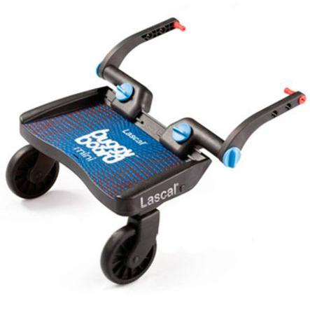LASCAL Planche à roulettes pour poussette Buggy Board Mini, basique, bleu