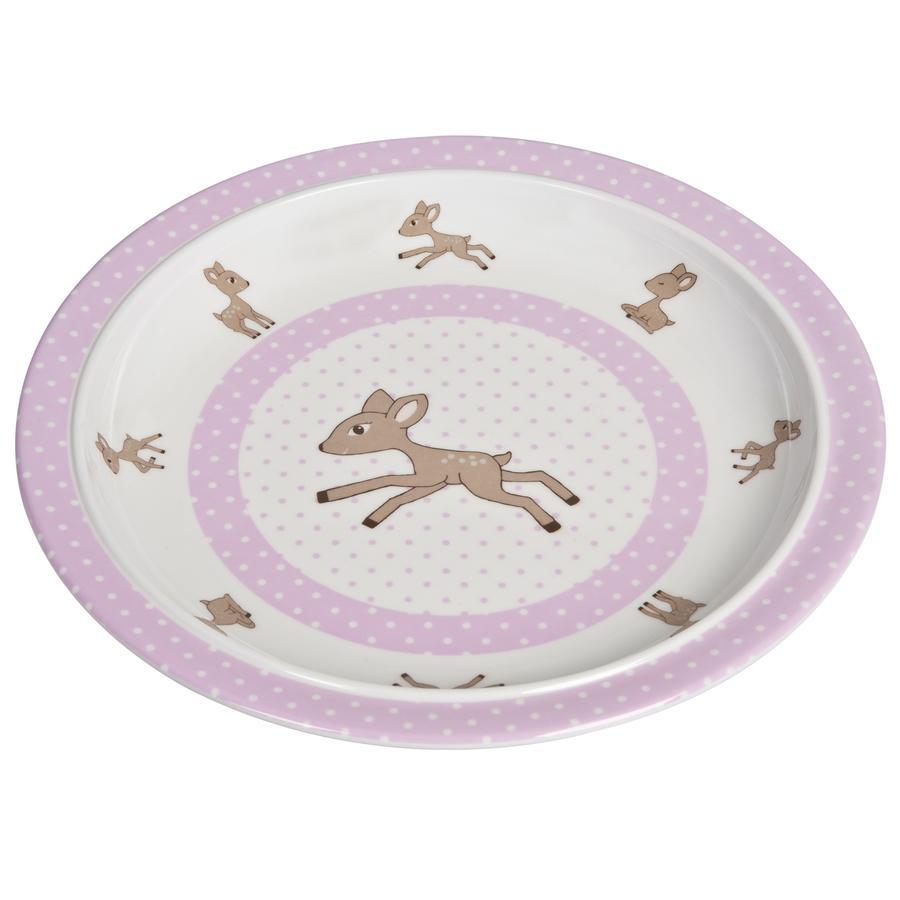 LÄSSIG Melamine bord, Lela light pink