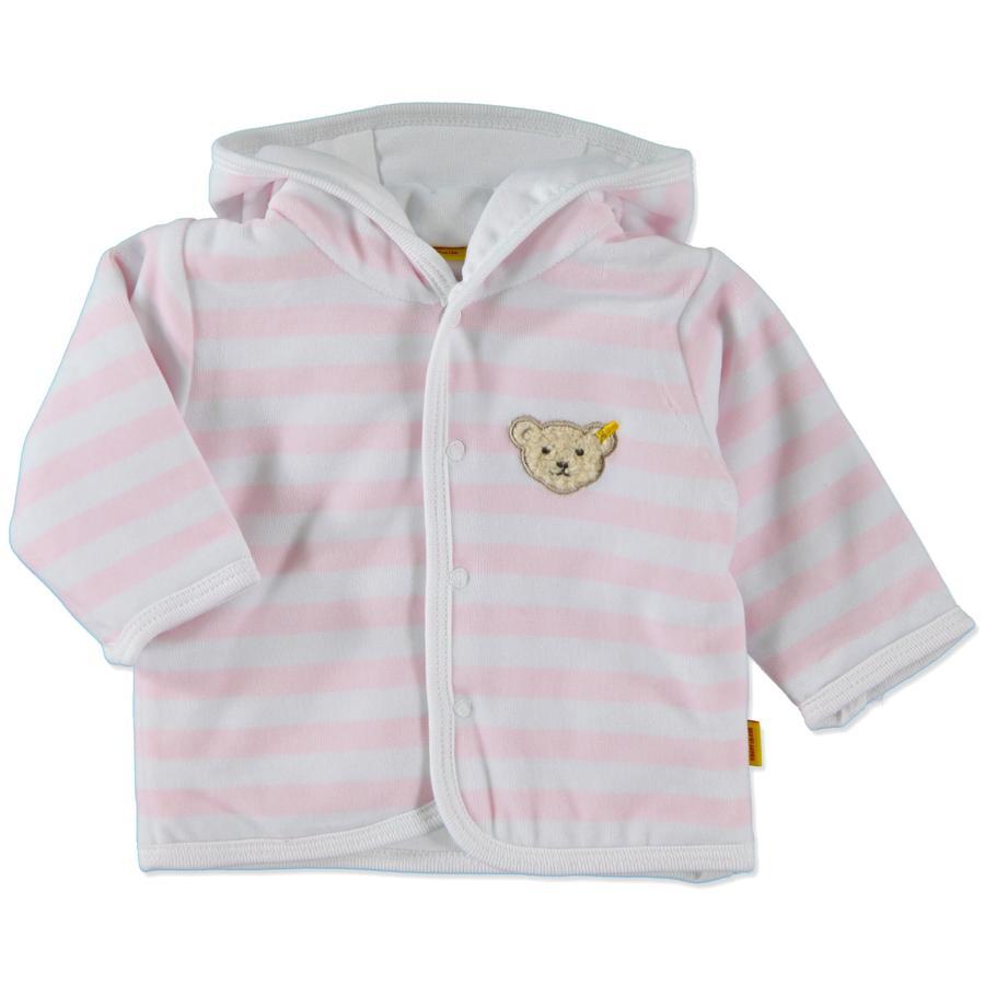 STEIFF Girls Baby Nicki Bunda Ringel rosé