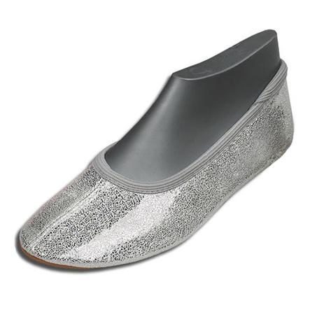 BECK Girls Zapatos de gimnasia BRILLANTINA plata