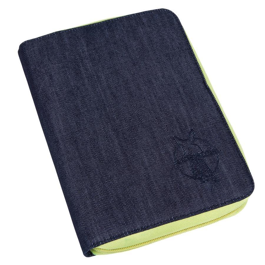 LÄSSIG Goldlabel Porta documenti Green Label blue
