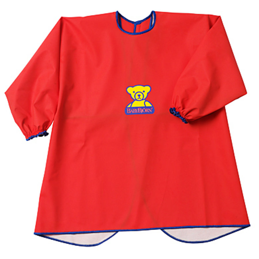 BABYBJÖRN Eat and Play Shirt Smock Red