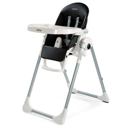 Peg-Pérego Chaise haute Prima Pappa Zero3 Licorice (similicuir)