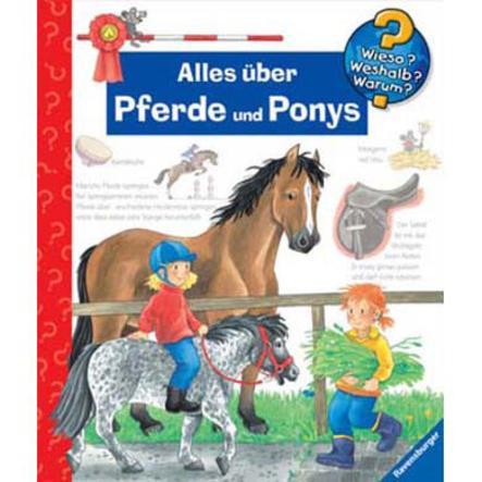 RAVENSBURGER Wieso? Weshalb? Warum?: Alles über Pferde und Ponys Band 21