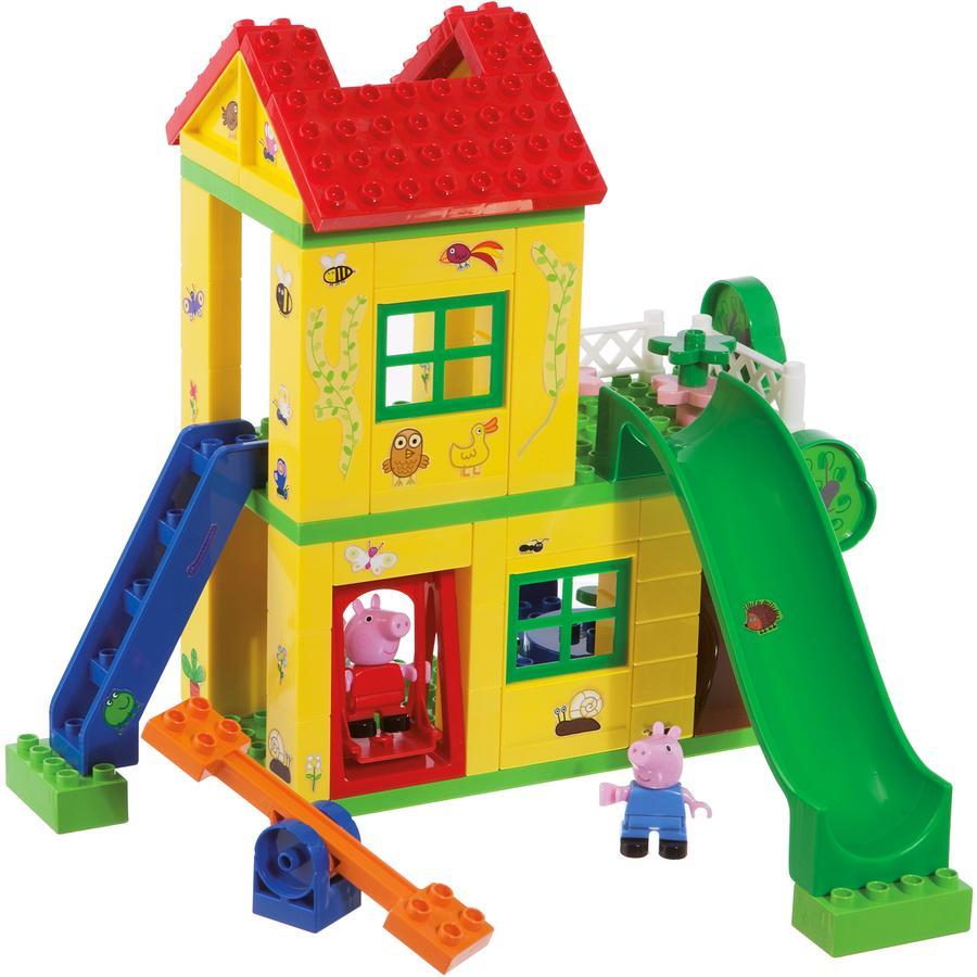 BIG PlayBIG BLOXX Juego de construcción - casita con tobogán