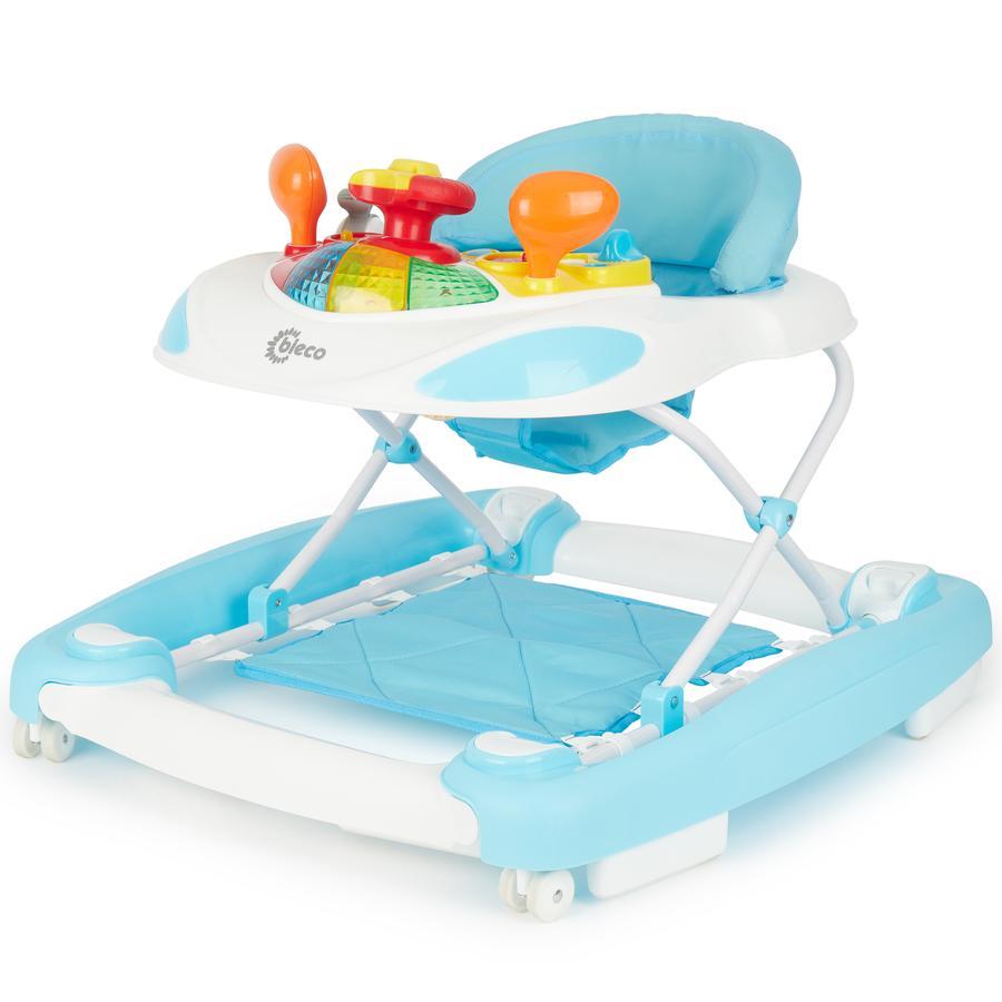 Bieco Loopwagen en Activitystoel, blauw