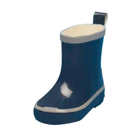 PLAYSHOES Rubber Boot Boys, low, navy, PVC-free