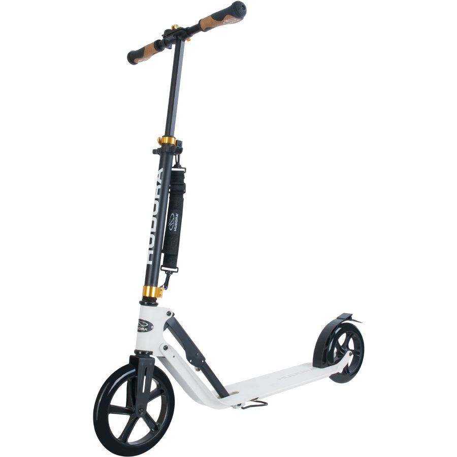 HUDORA Trottinette Big Wheel Style 230, blanc 14236