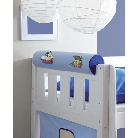 TICAA Wałek/podłówek do łóżka Pirat kolor jasno- i ciemnoniebieski