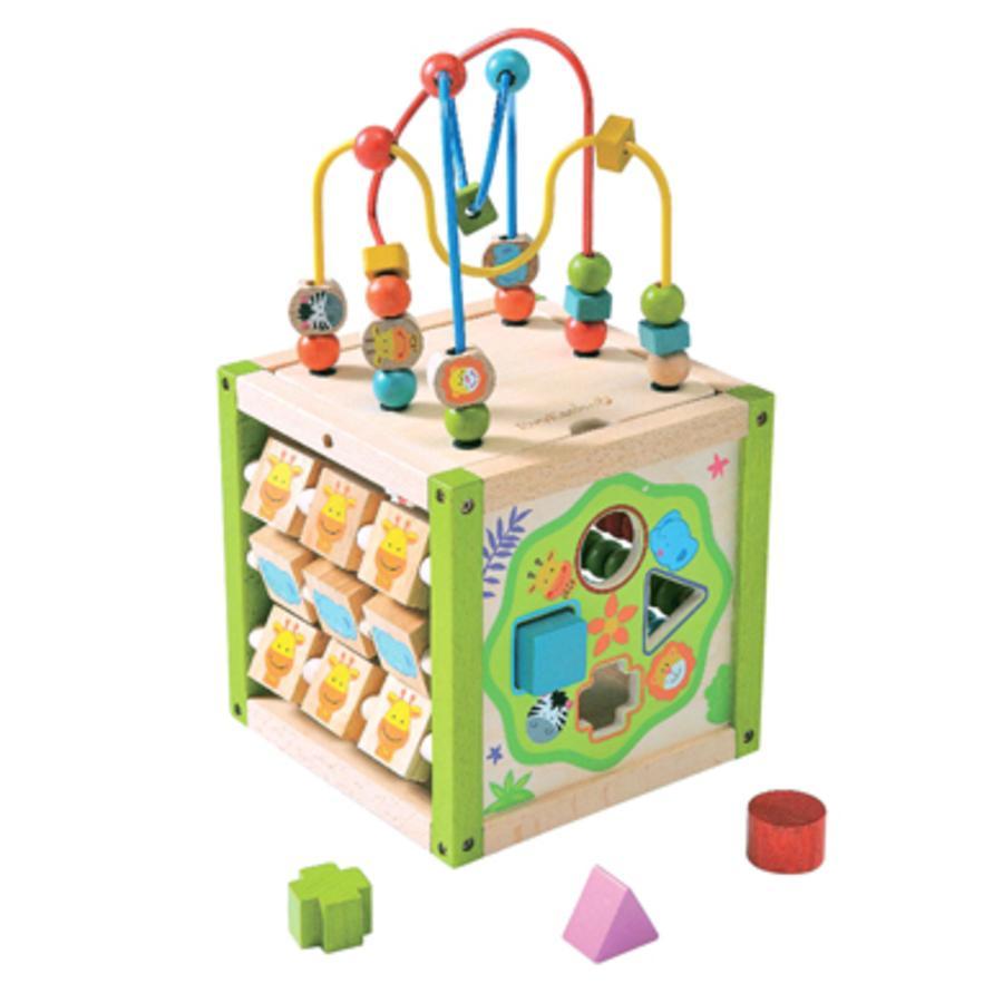 EverEarth® Mon premier grand cube d'activités bois