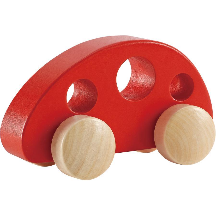 Hape Figurine minivan, bois rouge E0052