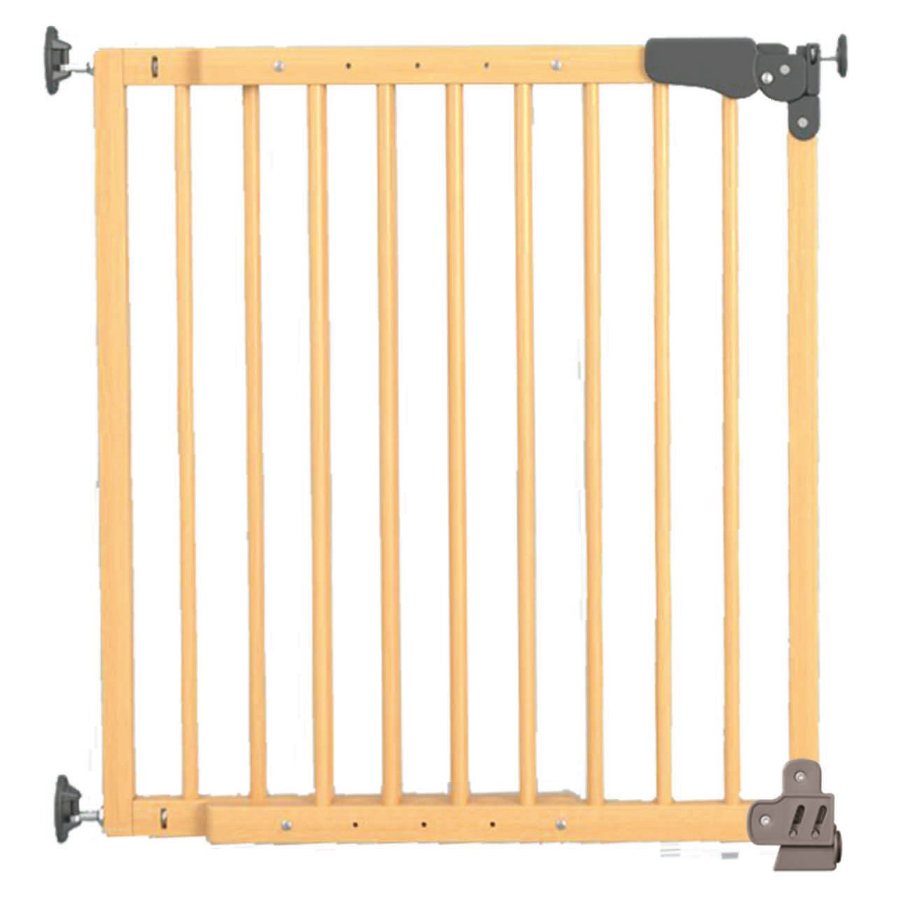 Reer Säkerhetsgrind - Klämgrind Basic Active-Lock  Trä/Natur