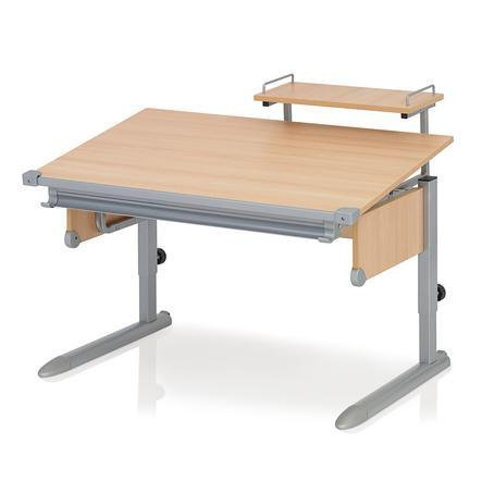 KETTLER Schreibtisch SCHOOL II, silber/buche