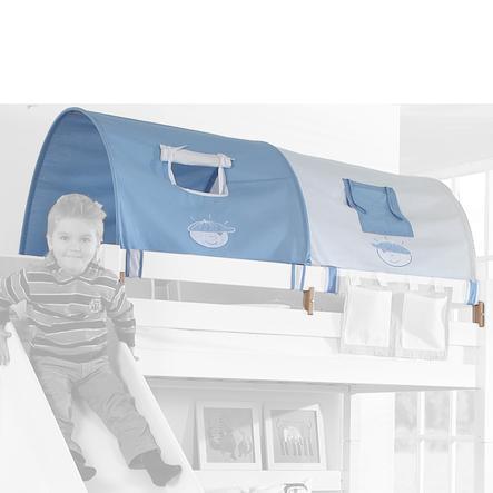 Relita 2er Tunnel zu Hoch- und Etagenbett blau-boy