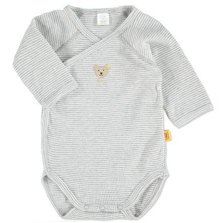 SANETTA Baby Body dziecięce grey melange