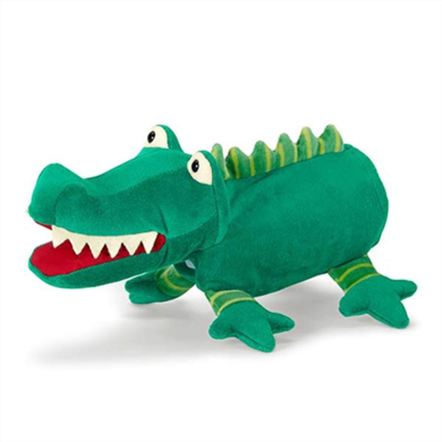 STERNTALER Handdocka Krokodil