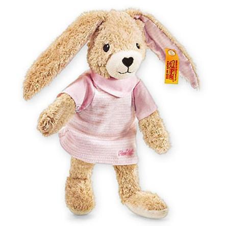 STEIFF plyšový hračka - skákající zajíc 20 cm
