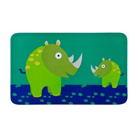 LÄSSIG Tavoletta per la colazione in melamina Wildlife Rinoceronte