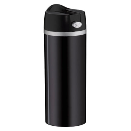 alfi Insulated Mug isoMug Perfect Stainless Steel, stainless steel black 0.35 l