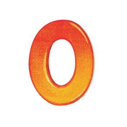 SELECTA Houten letter O