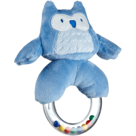 KIDS CONCEPT Rattle Ring, Pumpkin blue