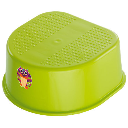 ROTHO Kids' Stool Bella Bambina Apple Green Oops Owl