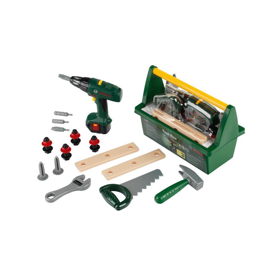 Theo klein Caisse à outils enfant Bosch avec visseuse 8429