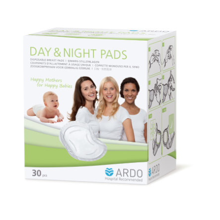 ARDO Day & Night Pads zoogcompressen 30 Stuk