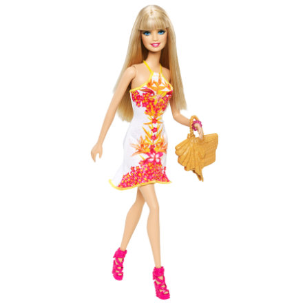 MATTEL Fashionistas Tropical - Barbie