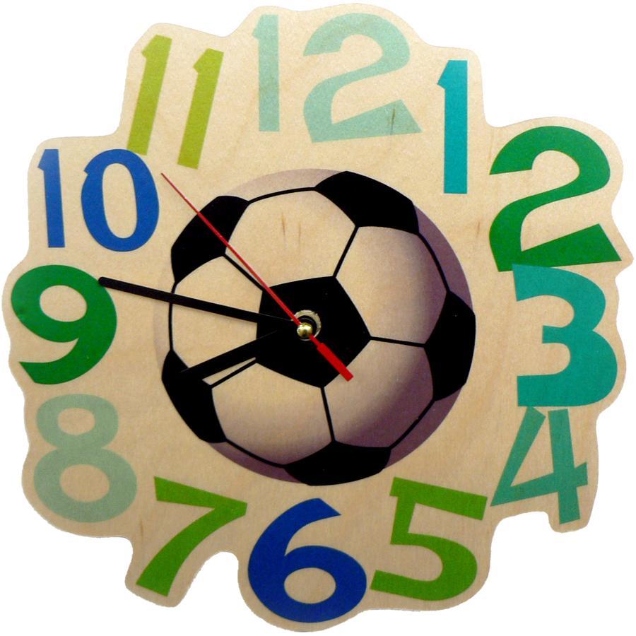 HESS Horloge murale à quartz Football