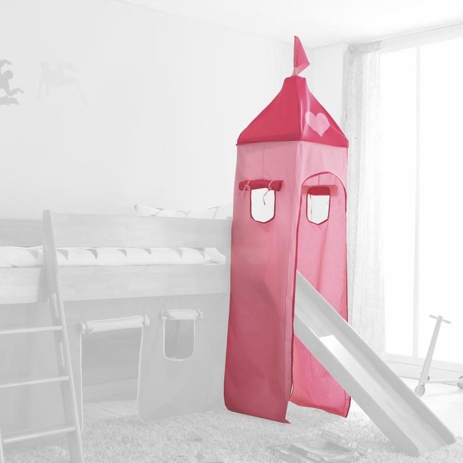 Relita Turm Set groß pink / Herz