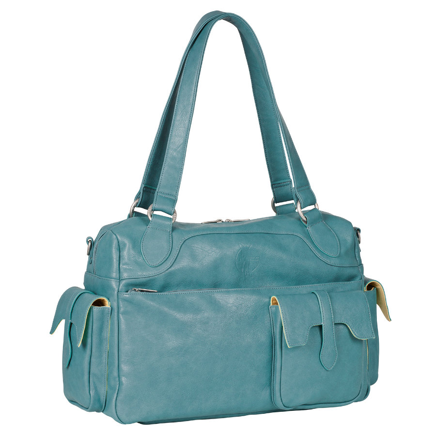 LÄSSIG Luiertas Shoulder Bag Tender bristol blue