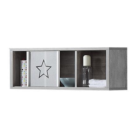 Schardt Étagère murale Eco Star hêtre blanc