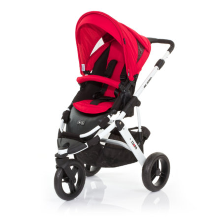 ABC DESIGN Pushchair Cobra cranberry Frame white/ black Collection 2015